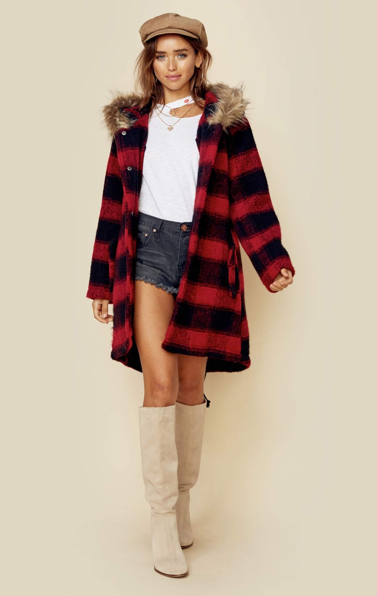 Flannel outfits with leggings  LIA COAT  NEW ARRIVALS  Pinterest  California girl style and Mini