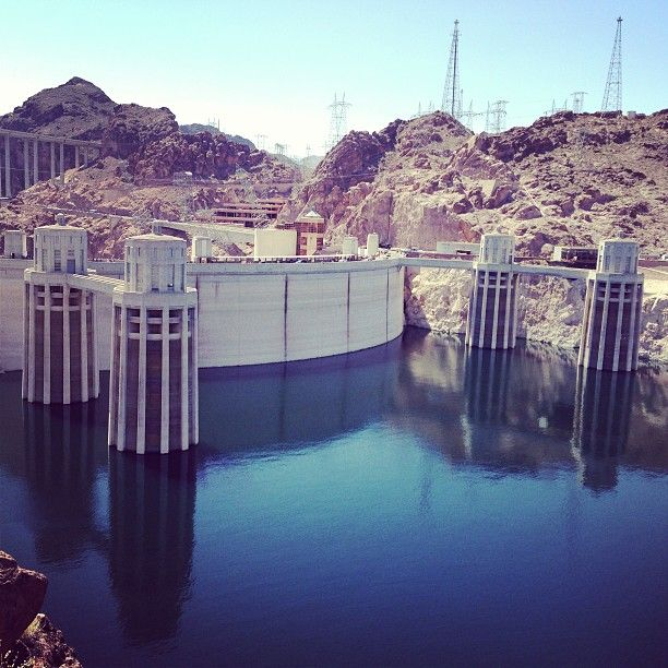 Hoover Dam in Nevada/Arizona, NV was really cool to visit because of the history behind the dam. If you have never been I would recommend that you go there.