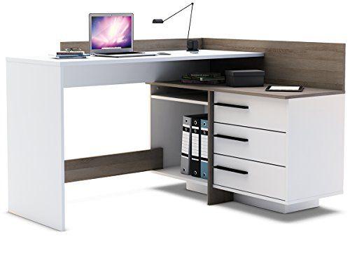 Computertisch Wohnzimmer ~ Eckschreibtisch schreibtisch arbeitstisch brotisch computertisch