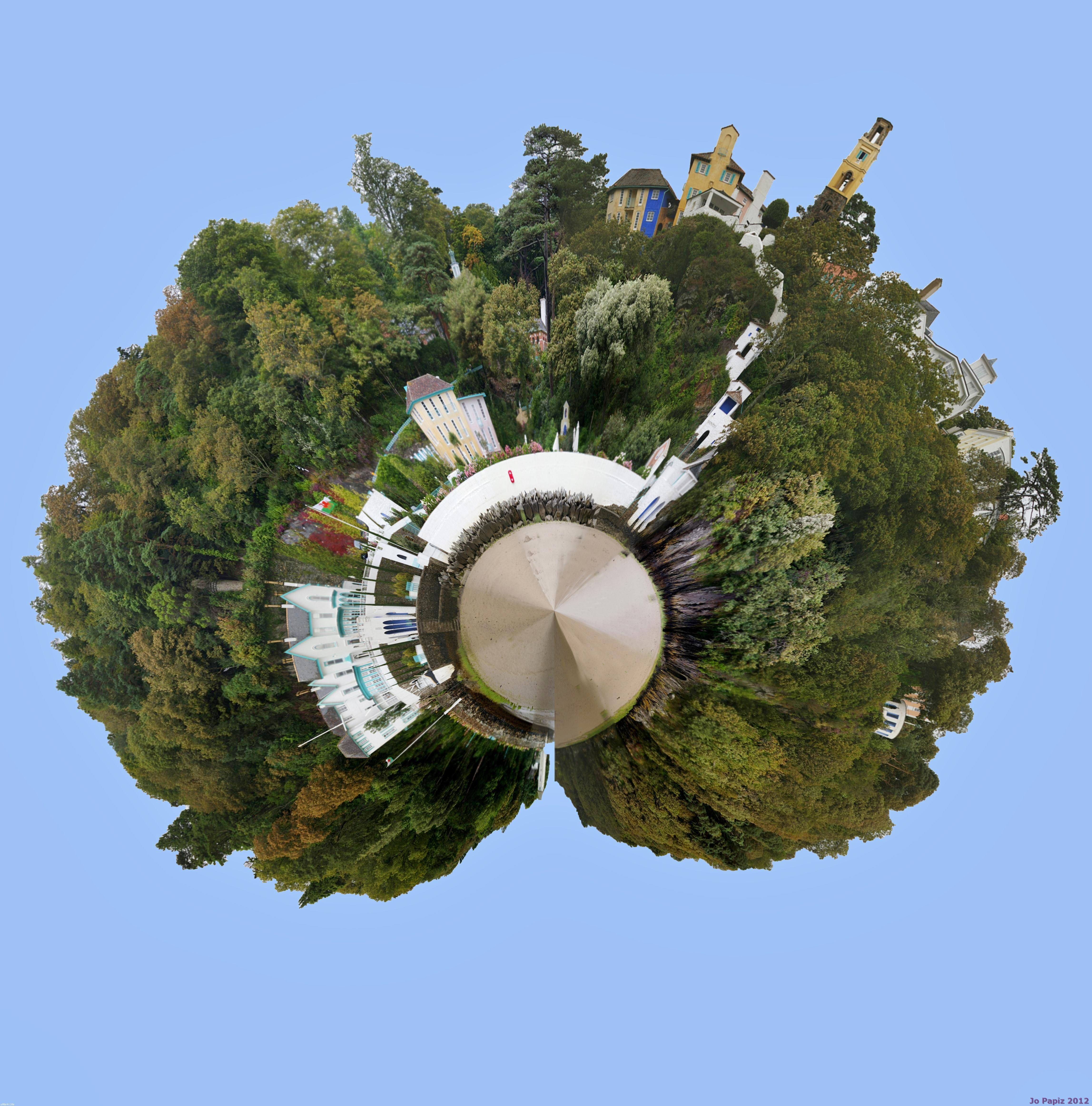 Portmerion Tiny Fair grounds, Travel