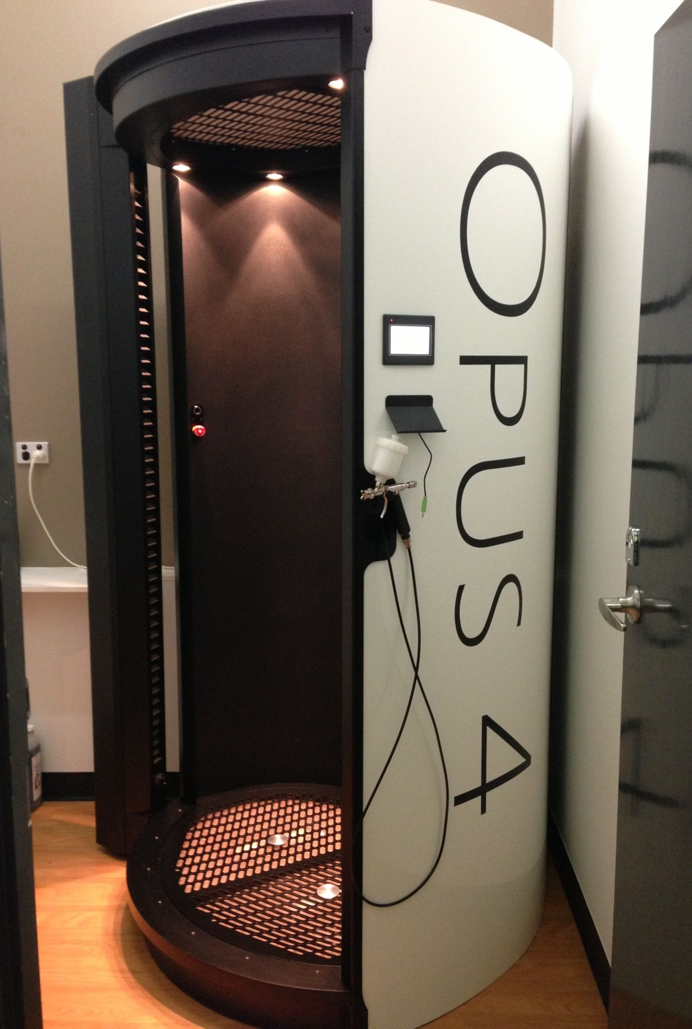 OPUS 24 Automatic Spray Tan Booth at Fuze Hair & Beauty, Ipswich