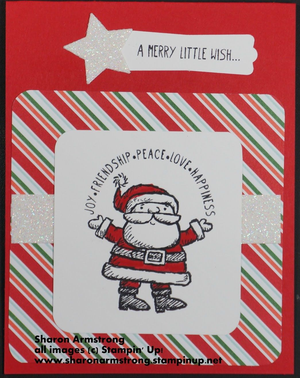 Get Your Santa On Christmas Card Online Class Card 3 of 6