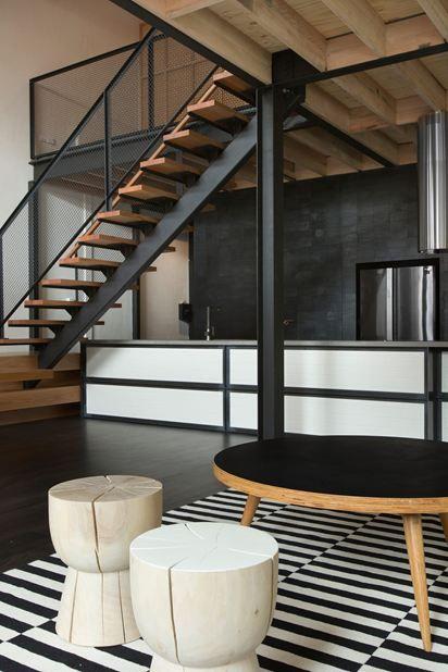 Wohnideen Treppenaufgang tinderbox house picture gallery escaleras geländer