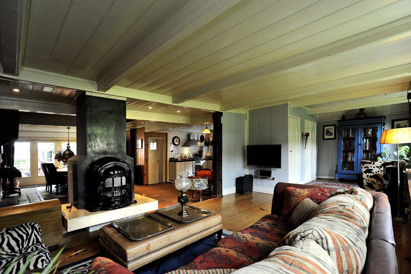 Warm, knus en gezellig deze woonkamer: Te koop aan de Noord ...