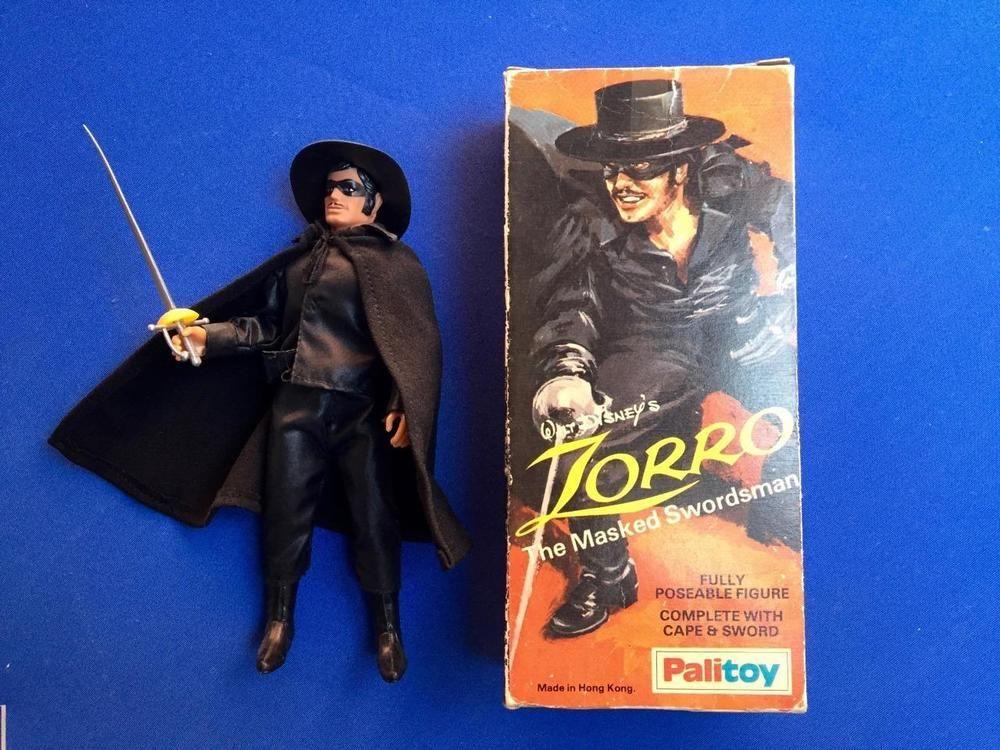 1977 Mego Palitoy Disney S Zorro Mint In Box Super Rare