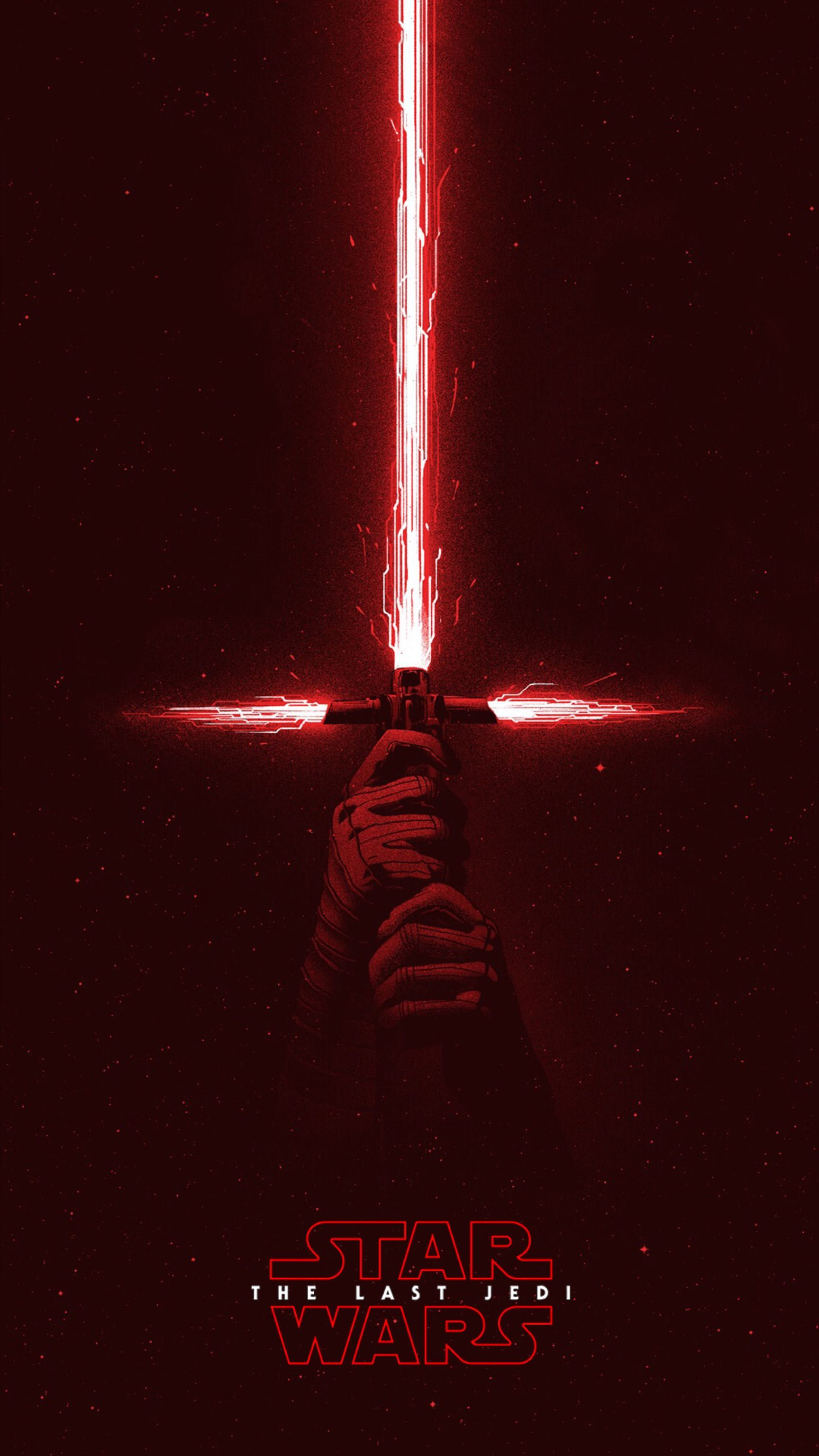The Last Jedi Kylo Ren Star Wars Poster Papel De Parede Star