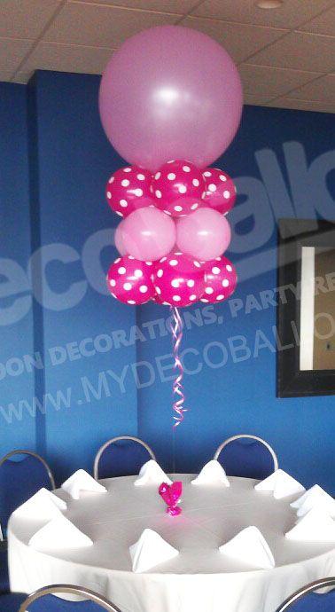 Balloon Decoration, My Deco Balloon Balloon Centerpieces 2 Baby
