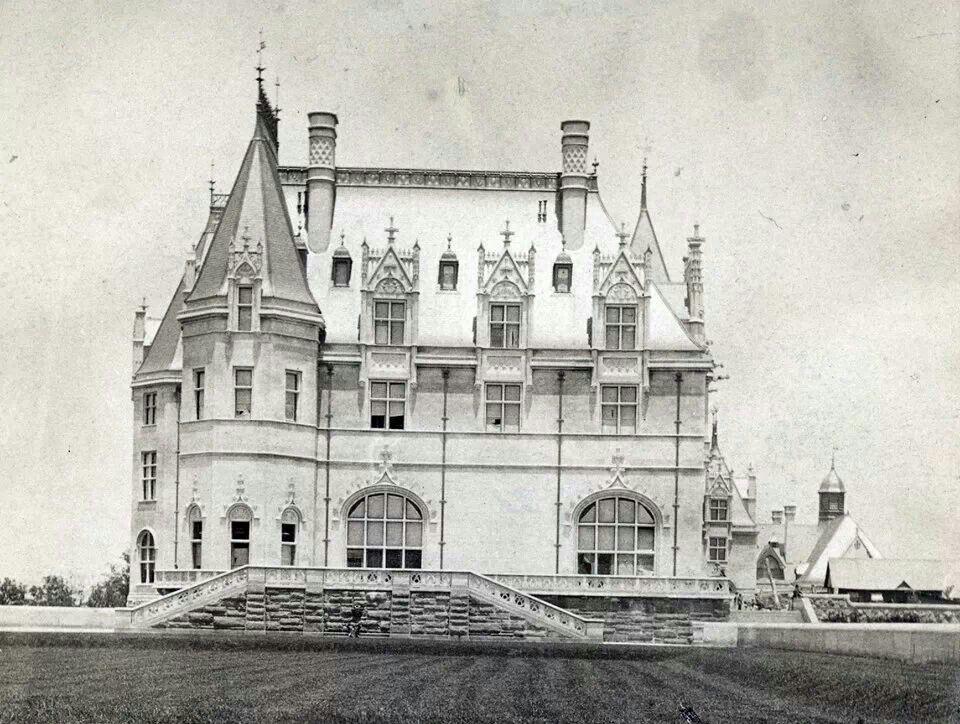 Early Biltmore. Biltmore estate, American mansions