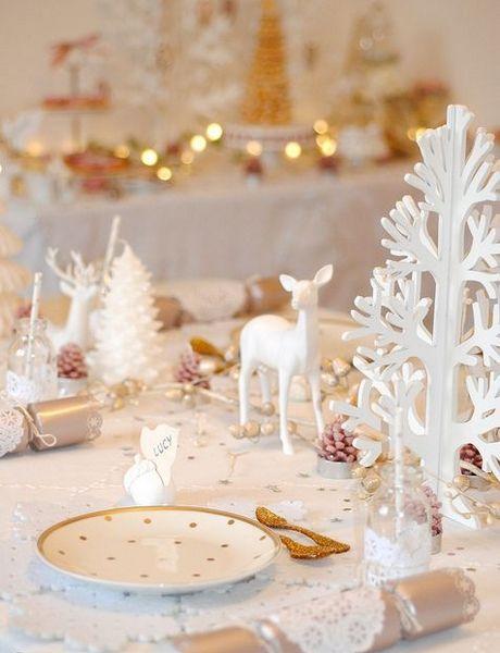 Déco : Des Idées De Tables De Noël - Red Beauty   Christmas