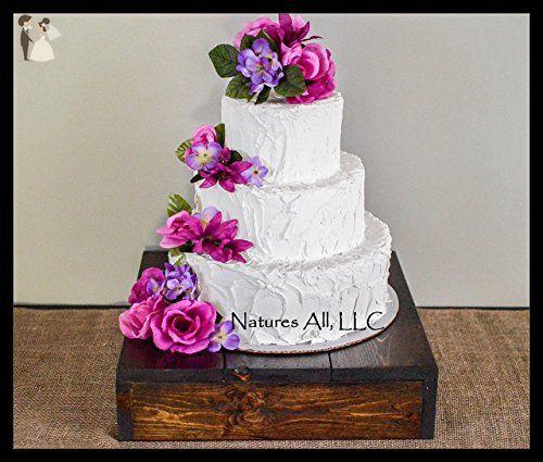Rustic Wedding Cake Stand Wedding Table Decor Amazon