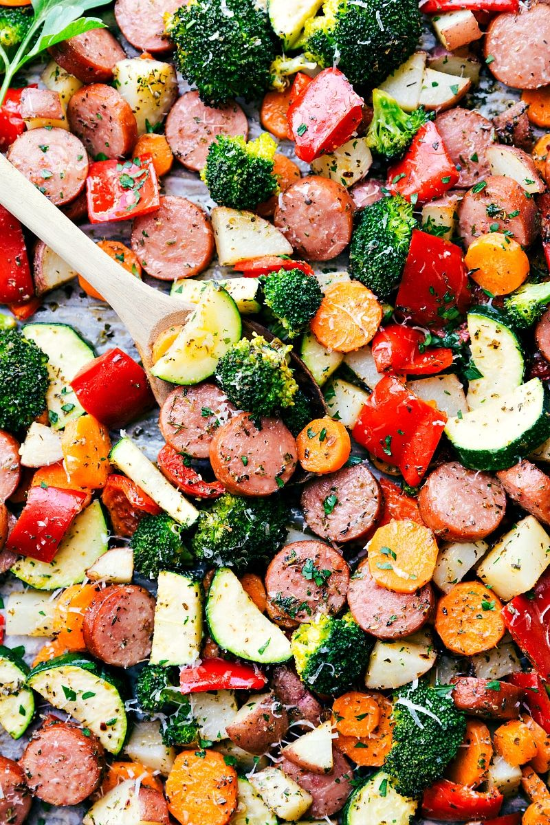 Italian sausage and veggies all cooked in one pan and deliciously italian sausage and veggies all cooked in one pan and deliciously seasoned a great and veggie sausageturkey sausage pastavideo forumfinder