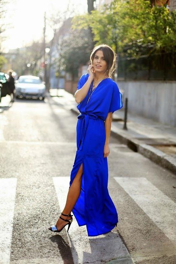 23++ Royal blue maxi dress ideas ideas