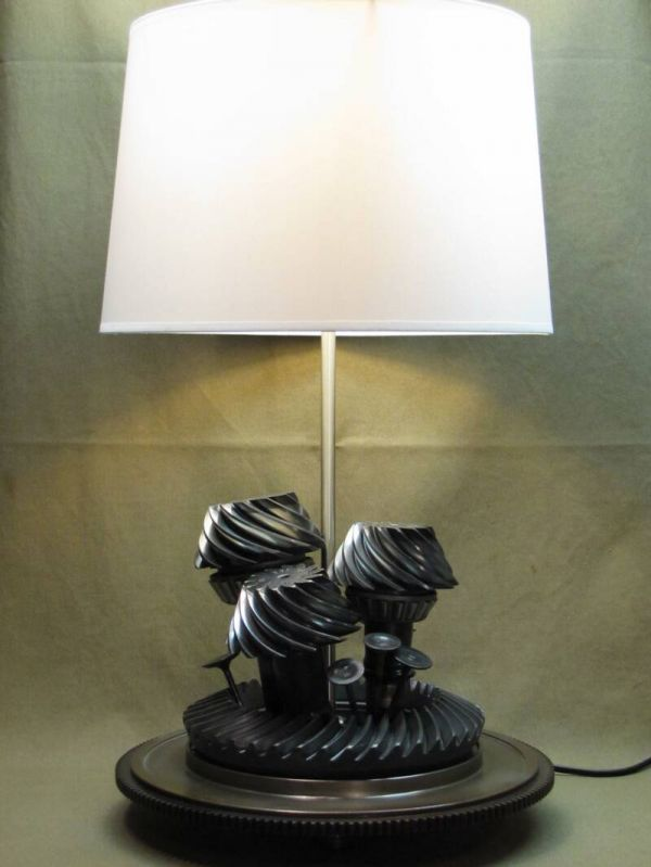 Lamps from Old Car Parts | Cars, Automotive furniture and Automotive ...