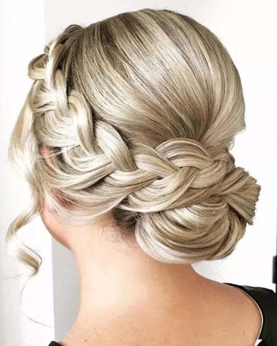 Pin On Bun Updo Hairstyles