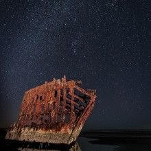 Shipwreck Of The Peter Iredale, Oregon Coast
