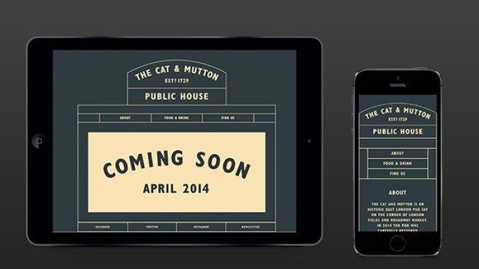 The Cat & Mutton Pub & Pearl's Cocktail Bar - Branding / Identity / Design