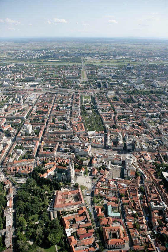 Zagreb Tourist Board Zagreb Zagreb Croatia Aerial View