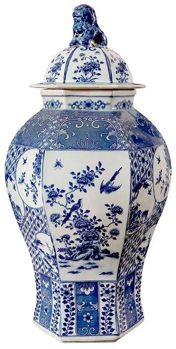 Blue And White Jars Blue White Jars Blue White Jar Blue And White Jar Www Instyle Decor Com Hollywo Blue And White Vase Porcelain Blue Blue White Decor
