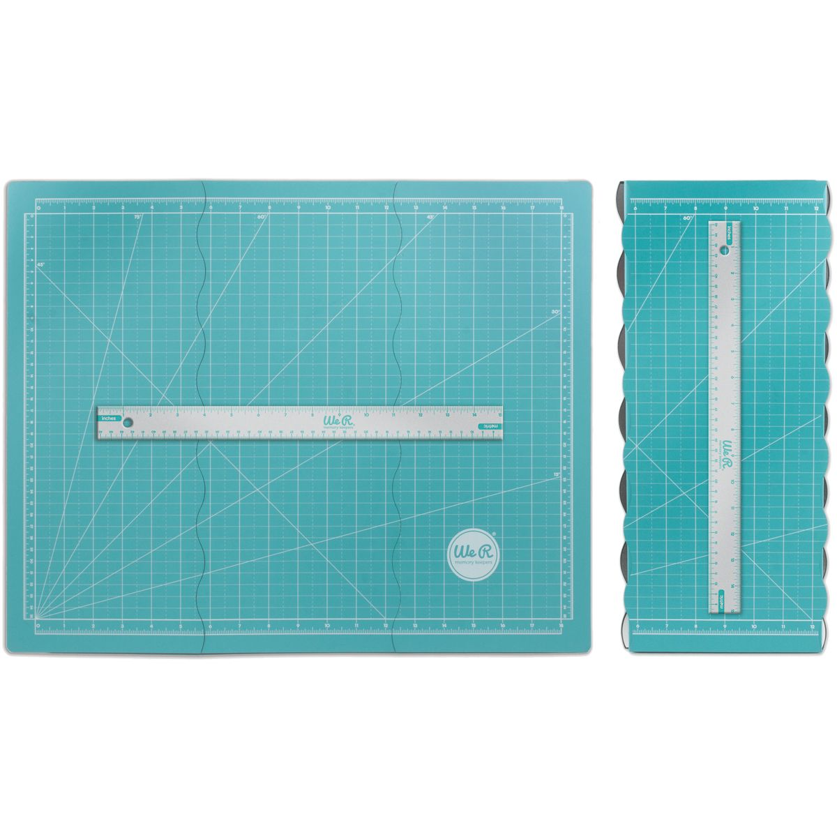 Tri Fold Magnetic Mat By We R Memory Keepers We R Memory Keepers Memory Keepers Scrapbook Supplies