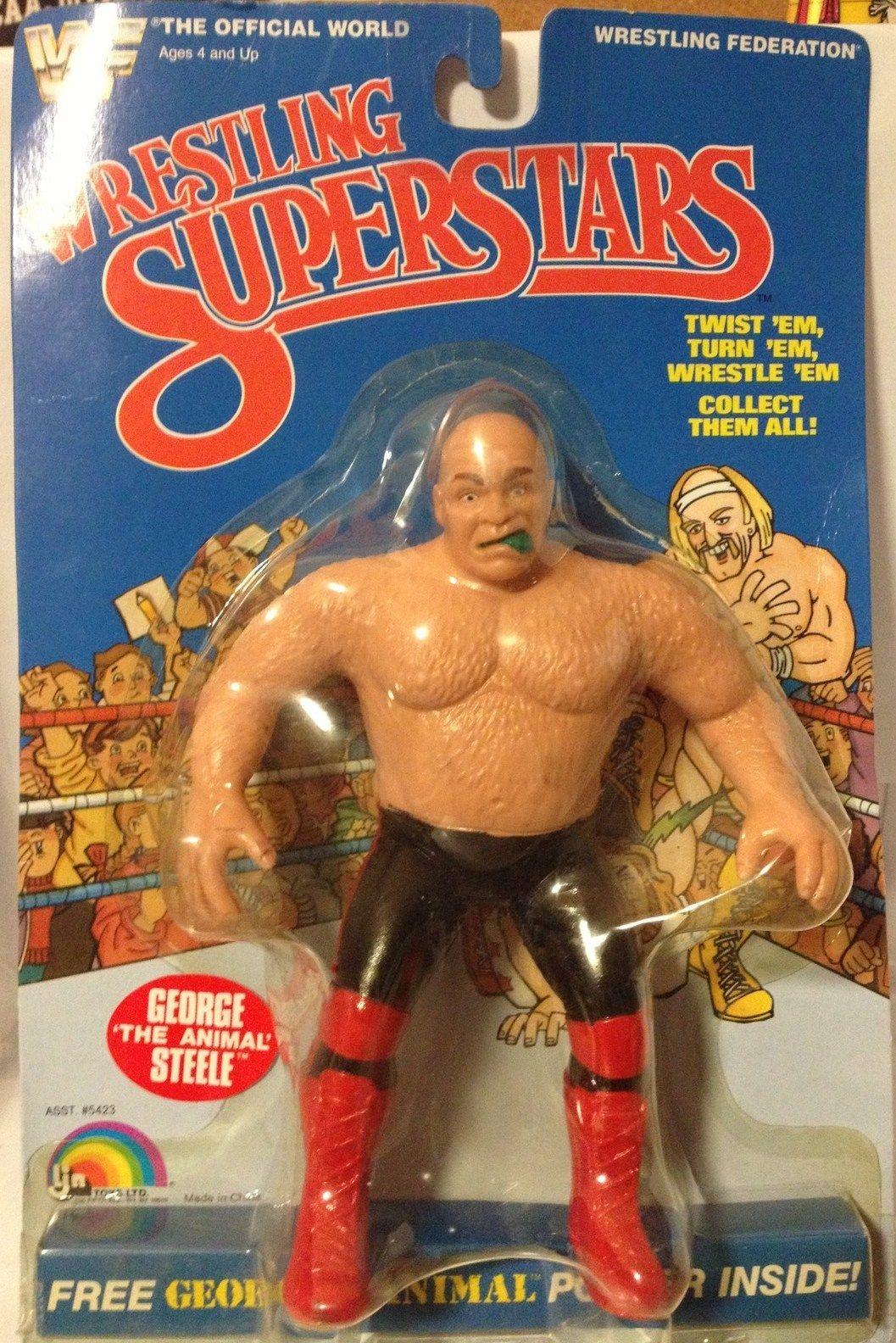 Wwf Wrestling Superstars George Steele Action Figure Wrestling