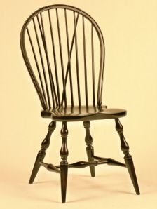 Old World Furniture Company Brace Back Windsor Chair Collection