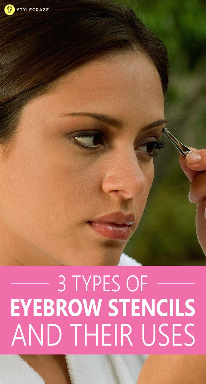 Top 8 Eyebrow Stencils Available In India Eyebrow Full Eyebrows