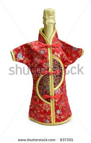 Favourite Hostess Gift Or New Year S Table Decoration For Chinese New Year Garrafas Decoradas Garrafas Figuras