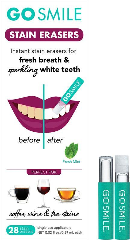 Go Smile's Touch Up Smile Perfecting Ampoules are a truly unique, multi-tasking product that keeps teeth looking fresh and beautiful between whitening treatments. #WhyOralCareIsImportantForElderly