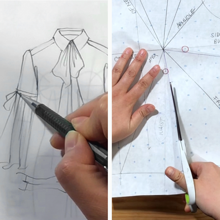 This Is Not A How To Become A Fashion Designer In 6 Easy Steps Video This Is A How To Educate Yourself To B Become A Fashion Designer Fashion Design Design