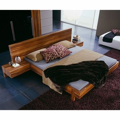 Gap Bed With Attached Side Tables Gorgeous Platform Bedroom