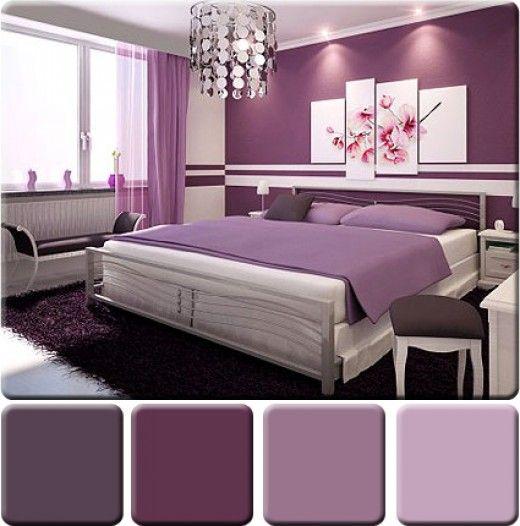 Romantic Color Schemes Small Bedrooms: Monochromatic Color Scheme For Interior Design