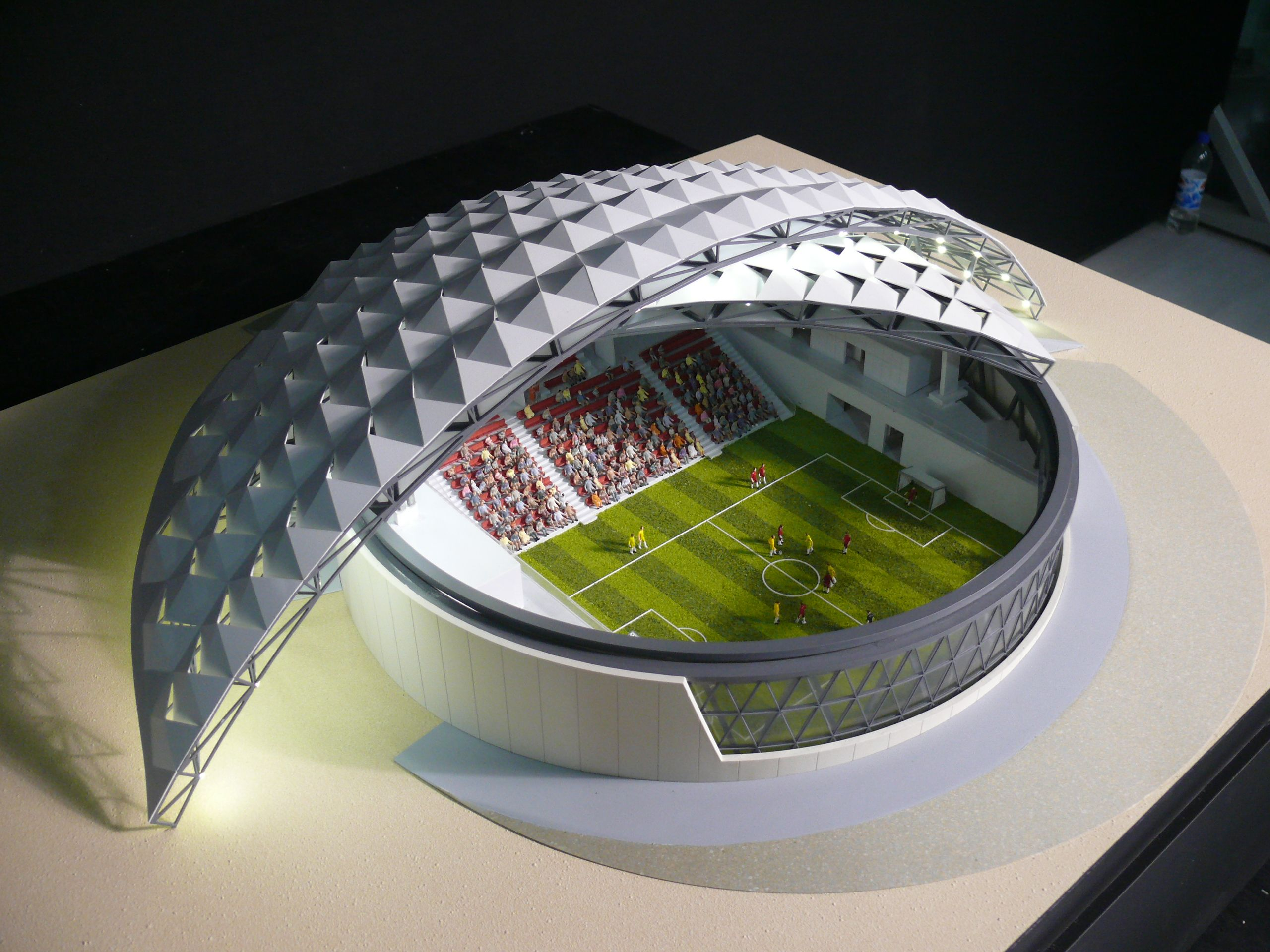 24 best stadium scale models by 3drmodels scalemodel architects sportsprojects images on Pinterest