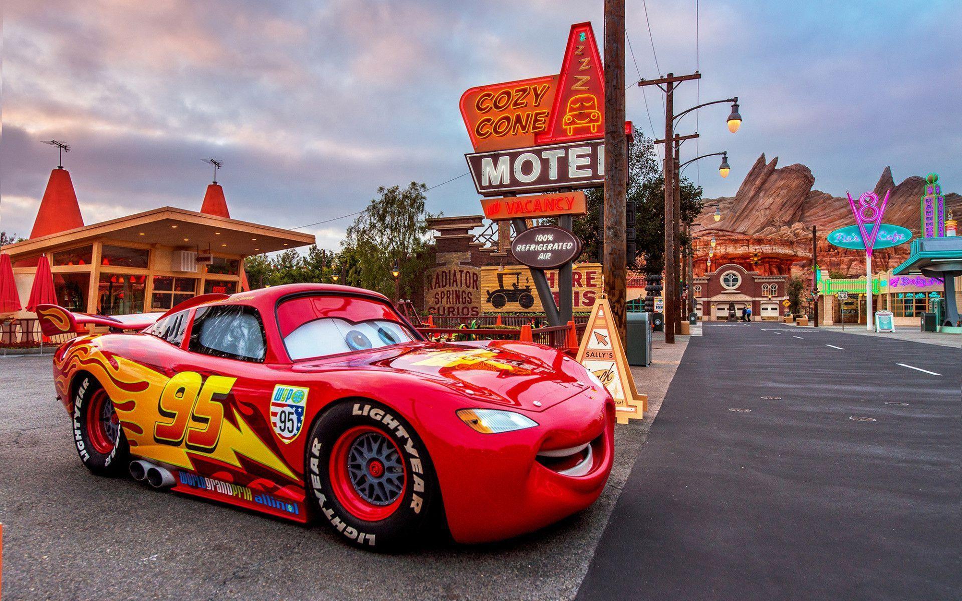 Wallpapers Cars Cartoon Wallpaper