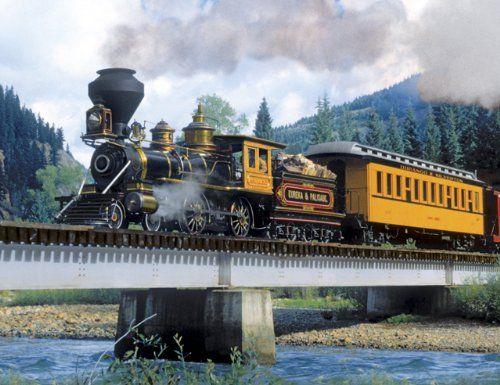Roller küchenwagen ~ Steam train jigsaw puzzles locomotive steam locomotive and