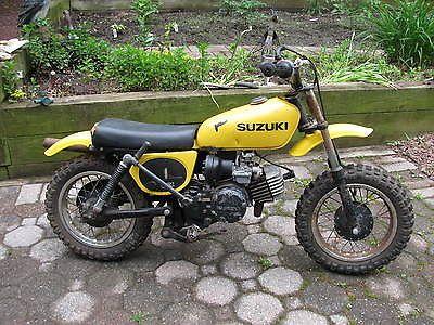 Vintage 1978 Suzuki Jr 50 Beginners Motorcycle Mini Bike W 2 Stroke Mini Bike Beginner Motorcycle Suzuki