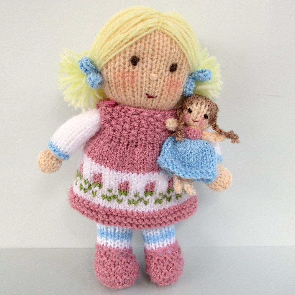 27cee34f70d7d4 Dolly Rose is the sweetest little dolly. She s soft and cuddly and just the  right size for little girls to hold. She has two different dresses to wear.