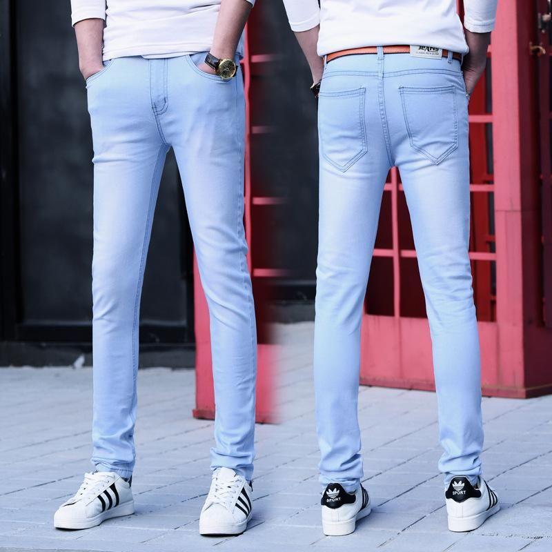 Mens Classic Slim Jeans Fashion Jeans