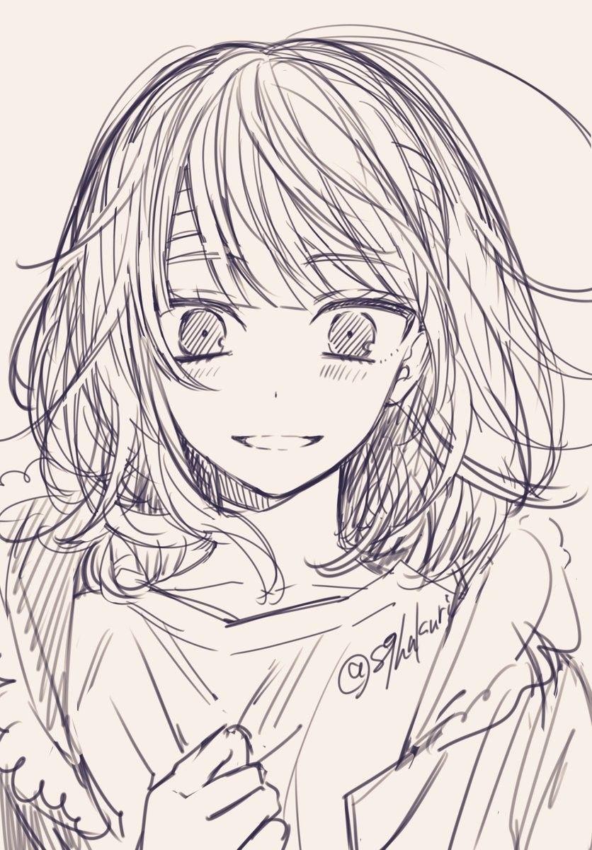 Sachi Iro No One Room Anime Sketch Anime Drawings Sketches Anime Art Girl