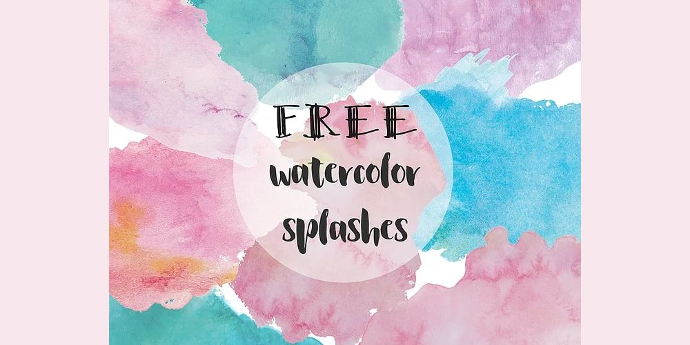 Free Watercolor Elements For Designers Hello December Imperial