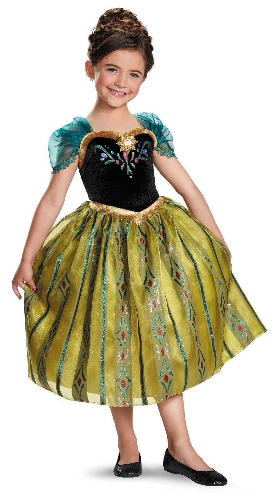 701063dc7edc Disney Frozen  Lille Anna kostume