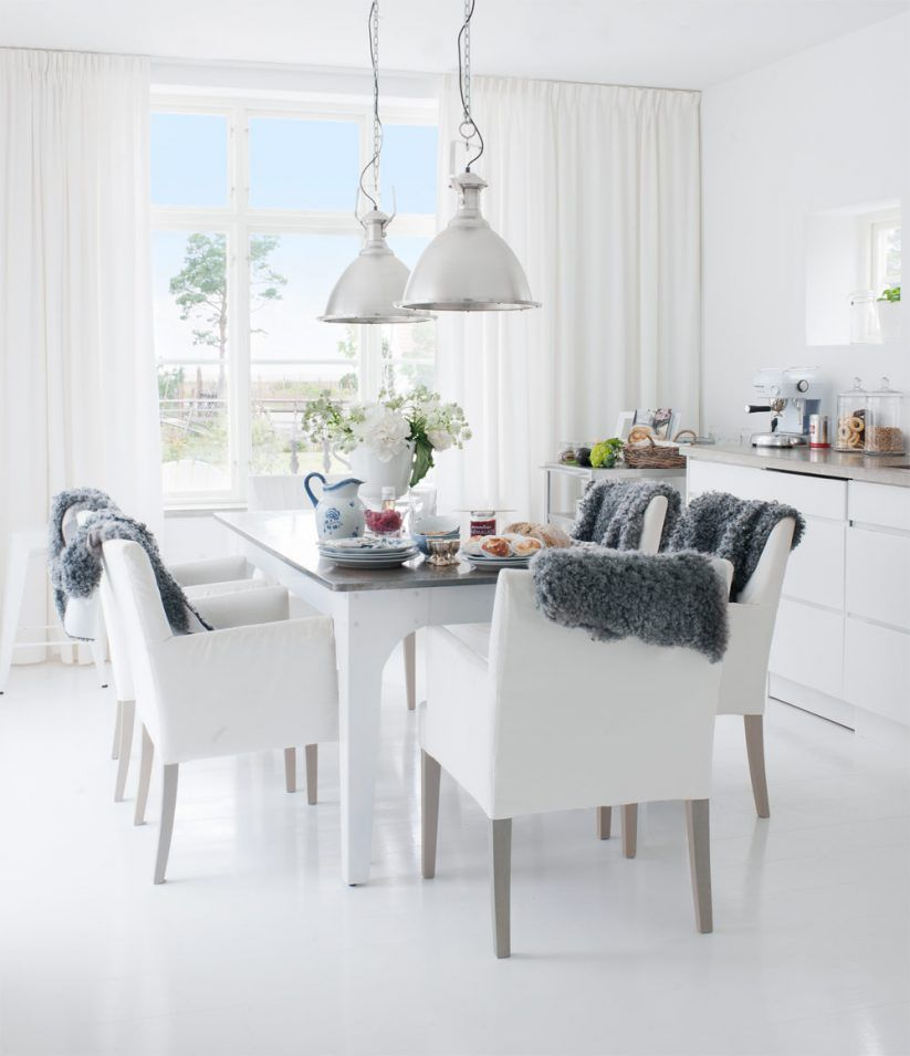 Related Image  Homes  Pinterest Best Dining Room White Decorating Inspiration