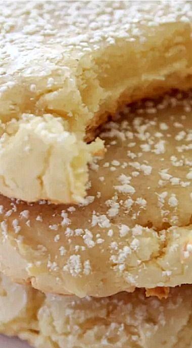 Kentucky Butter Cake Cookies #cookies