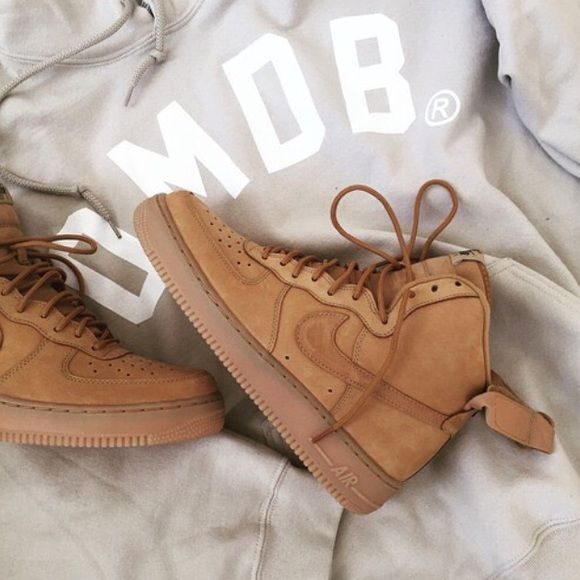 competitive price d985a 9cc7c nike air force 1 tan suede