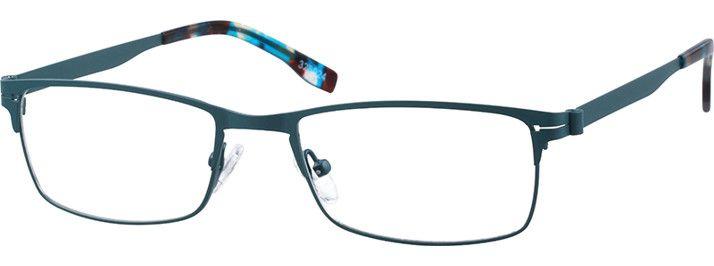 b6bbc90998 Green Rectangle Glasses  325024