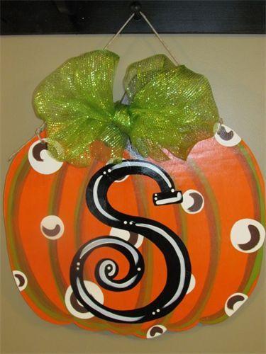 Initial Pumpkin $40