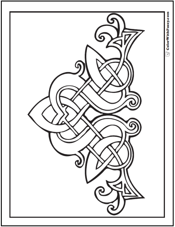 90 Celtic Coloring Pages ✨ Irish, Scottish, Gaelic | Irish ...