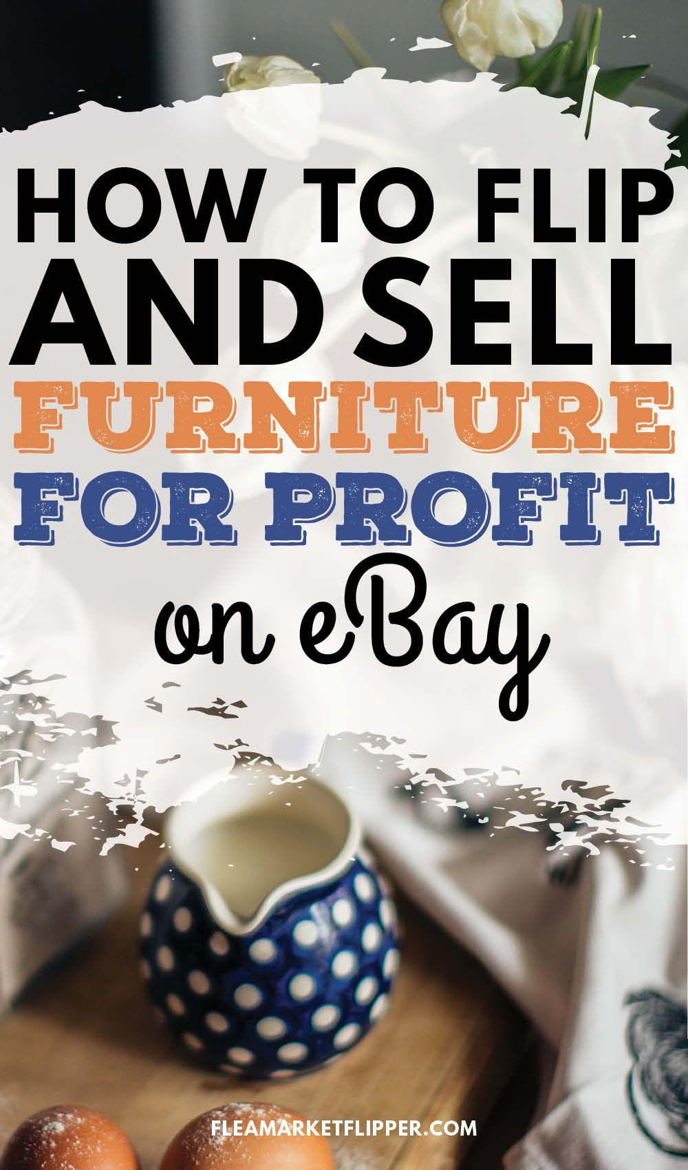 How to double your furniture flipping profits by mastering