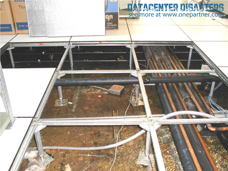 Under floor Water A good reason to use elevated mounting