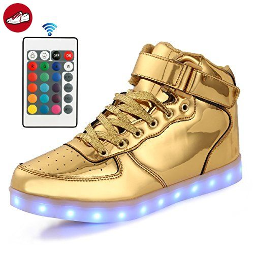 Top High Usb Schuhe Up Flarut Light Aufladung Sneakers Led hrdxCtsQ