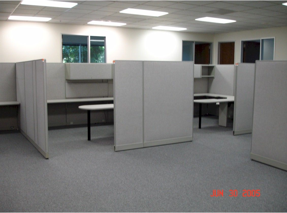 Cubicle layout ideas google search office pinterest for Office design works